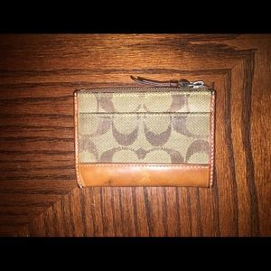 Coach Mini Card Case/Wallet